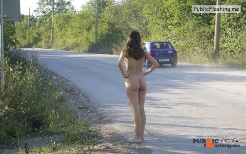 Public nudity photo thelifeoftami: Figuring she should get her task over with as... Public Flashing