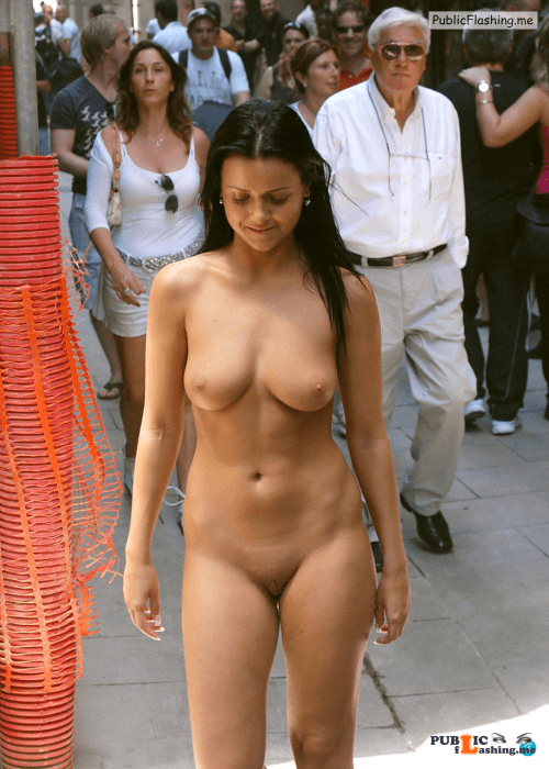 Public nudity photo thelifeoftami: She got into her Campbell Frank College mode –... Public Flashing