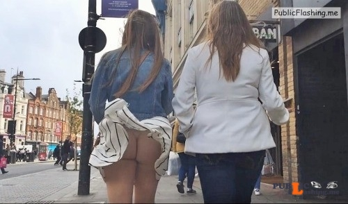 Ass flashing everwatchful: Is that a thong? I can't tell…it's driving me... Public Flashing