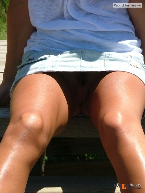 No panties jjpussyfan: My wifes beautiful pussy, the sweetest I have ever... pantiesless Public Flashing