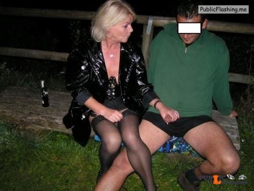 Ass flashing strangers4sex: Reblog if you want to fuck a wife??... Public Flashing