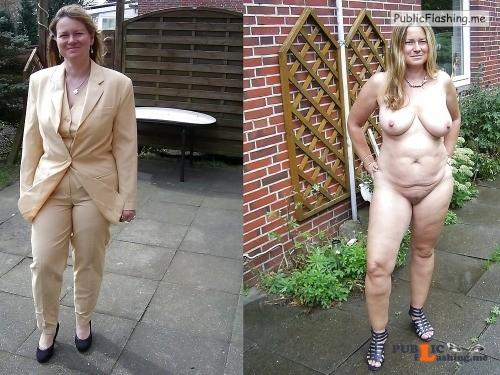 Ass flashing hotbritishmums: Sexy mature Mum from Clydebank a quick... Public Flashing