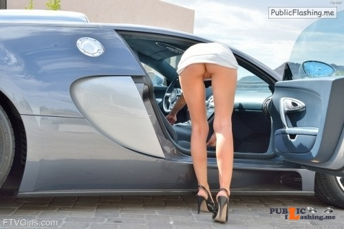 FTV girls upskirt Nice car. Nice legs. Nice view. Great picture.See more in this... Public Flashing