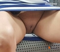 No panties bushpruner: @mylittlesecretonthewebmchgrl909 @hamburgerslit ... pantiesless Public Flashing