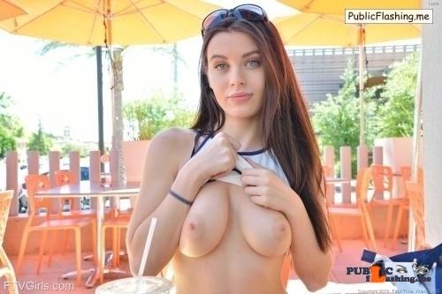 Public Flashing Photo Feed : FTV Girls Gorgeous Lana Rhoades does hardcore now, but back when she was…