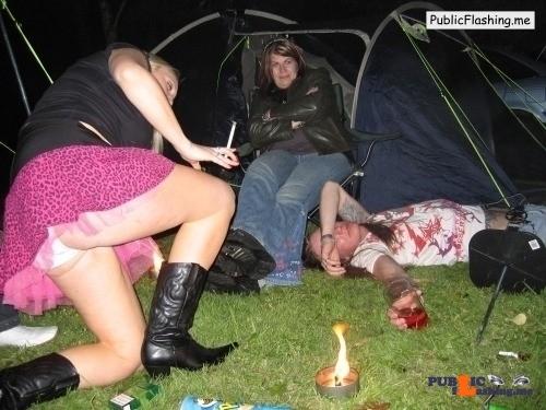 Public Flashing Photo Feed : Ass flashing Photo