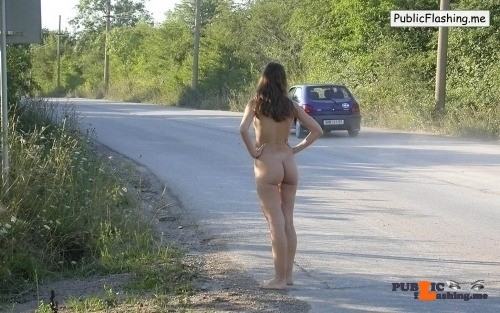 Public nudity photo thelifeoftami: Figuring she should get her task over with as…