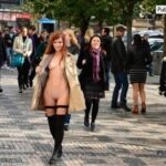 Public nudity photo public-collectionts: Follow me for more public exhibitionists:…