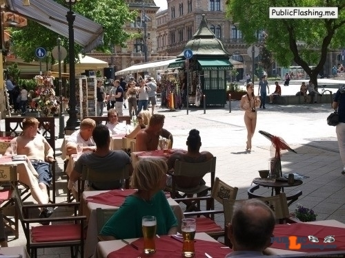Public nudity photo nude-girls-in-public:Nude-in-public: Zuzana A – Series…