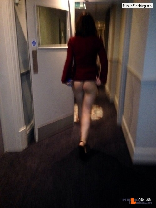 Ass flashing richaz69:Cheeky little flash in hotel