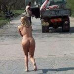 Public nudity photo humiliatedchicks:When Martin found out his girlfriend had stolen…