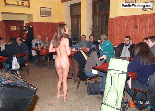 Public nudity photo thelifeoftami: Again, that weird feeling of being the only naked…