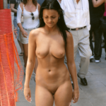 Public nudity photo thelifeoftami: She got into her Campbell-Frank College mode –…