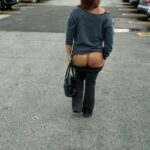 No panties luck2923: It's so much fun playing naked but in public all I… pantiesless