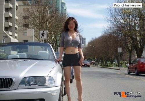 Public Flashing Photo Feed : Exposed in public Photo