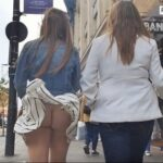 Ass flashing everwatchful: Is that a thong? I can't tell…it's driving me…