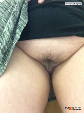 Public Flashing Photo Feed : No panties nagabesar1981: My lil fox obeying my no panties at work… pantiesless