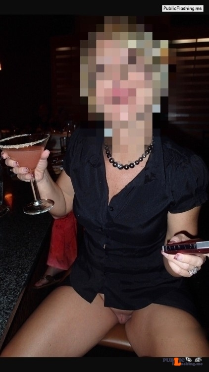 Public Flashing Photo Feed Hot Wife : No panties hotwifekelli: Wife at the bar with NO PANTIES!!!   LOVE IT!!! pantiesless