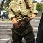 Ass flashing garrisonwatchuk: Stand right there you slut … Now finger bang…