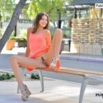 FTV Girls FTV Girl Roxanna shows us a big smile on a city street. Two…