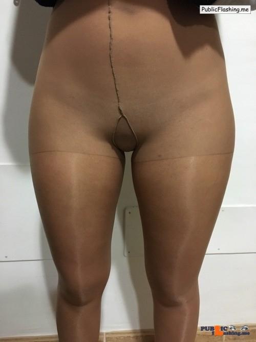 Public Flashing Photo Feed : No panties Thanks a lot gorgeous pantiesless