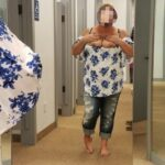 Flashing in public store Had this awesome shot sent in by Sunloversflof her flashing her…