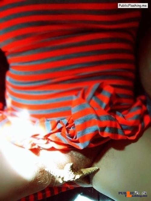 Public Flashing Photo Feed : No panties greencheetahlove: ?? getting warmer….commando pantiesless