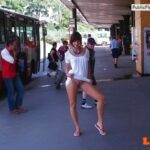 Public nudity photo outside-only:do you some more sluts flashing in public posts?…