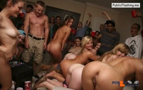 Public Flashing Photo Feed : Public nudity photo groupofnakedgirls: humiliatedchicks: All right girls. Welcome…
