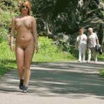 Public nudity photo arturotik:Nice girls posing naked – I call it extreme flashing…