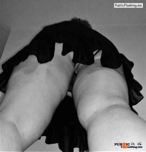 Public Flashing Photo Feed : No panties Photo pantiesless