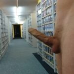 Outdoor nude selfshot myoutoorcock:Some fun in a Videostore!