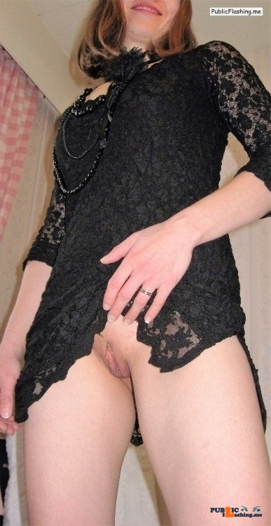 Public Flashing Photo Feed : No panties bi-tami: Well it is Friday…..Time to show off a bitTami @ 6:31 pantiesless