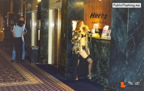 Exposed in public Hotel lobby. Thank you for the submission…love it…