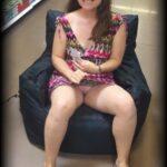 No panties themuskygusset: Lucky bean bag chair Commando shopping pantiesless