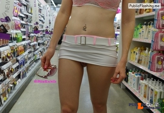 No panties Suggestion maybe more of the going commando shopping some nice upskirts :) pantiesless