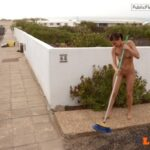 Public nudity photo arturotik:If you're a nudist, coming out naked to sweep your…