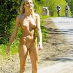 Public nudity photo tanallover: Bareness in public Follow me for more public…