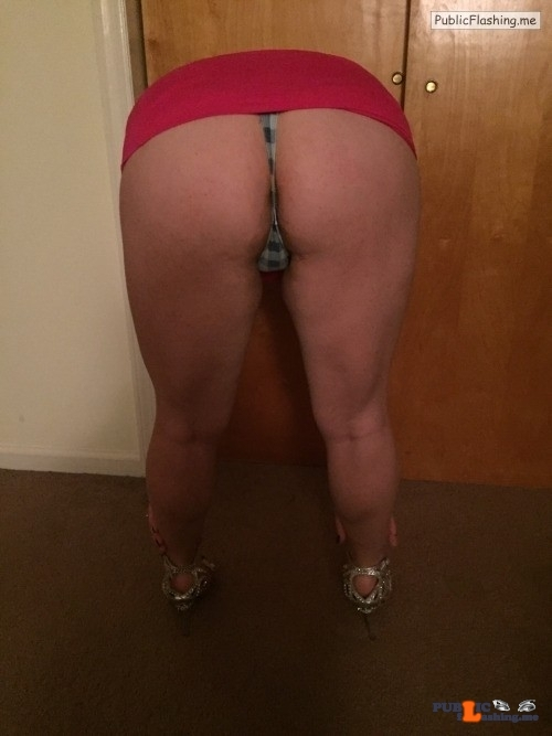 No panties slavegirl-entertainment: Sooo this happens every time I bend… pantiesless