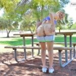 FTV Babes Enjoying some views of wide-open places down at the park with…