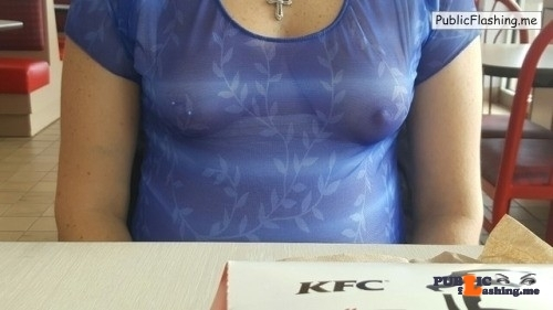 No panties @mylittlesecretonthewebmchgrl909 visiting KFC commando and with… pantiesless