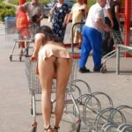 Public flashing photo gogoupskirt: MORE UPSKIRT