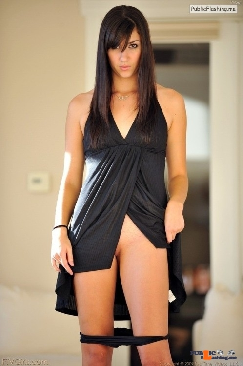 FTV Babes upskirt What a great dress she's almost wearing! See more in this free…