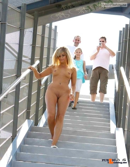 Public nudity photo tanallover:Bareness in public Follow me for more public…