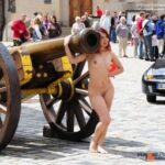 Public nudity photo exposed-on-public:Cannon Follow me for more public…