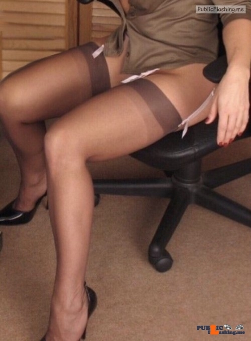 No panties stockholmcoupleblog: Farstagirl , Sitting on the department's… pantiesless