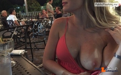 Public exhibitionists willshareher: More Saturday flashing fun.
