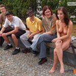 Public nudity photo digitalexhibitionists: Be a flirt, lift up your shirt. 2500+…