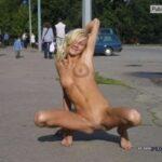 Public nudity photo wickedpublicsex:public swinging Follow me for more public…