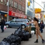 Public nudity photo exposed-on-public:Take out the trash Follow me for more public…
